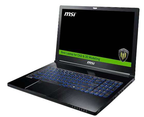 MSI WS-63 Laptop workstation