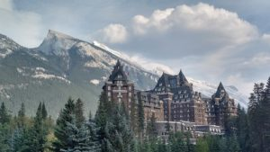 Banff Springs Hotel is awesome