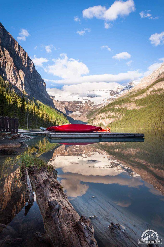 Paddle Anyone? Lake Louise - Banff National Park