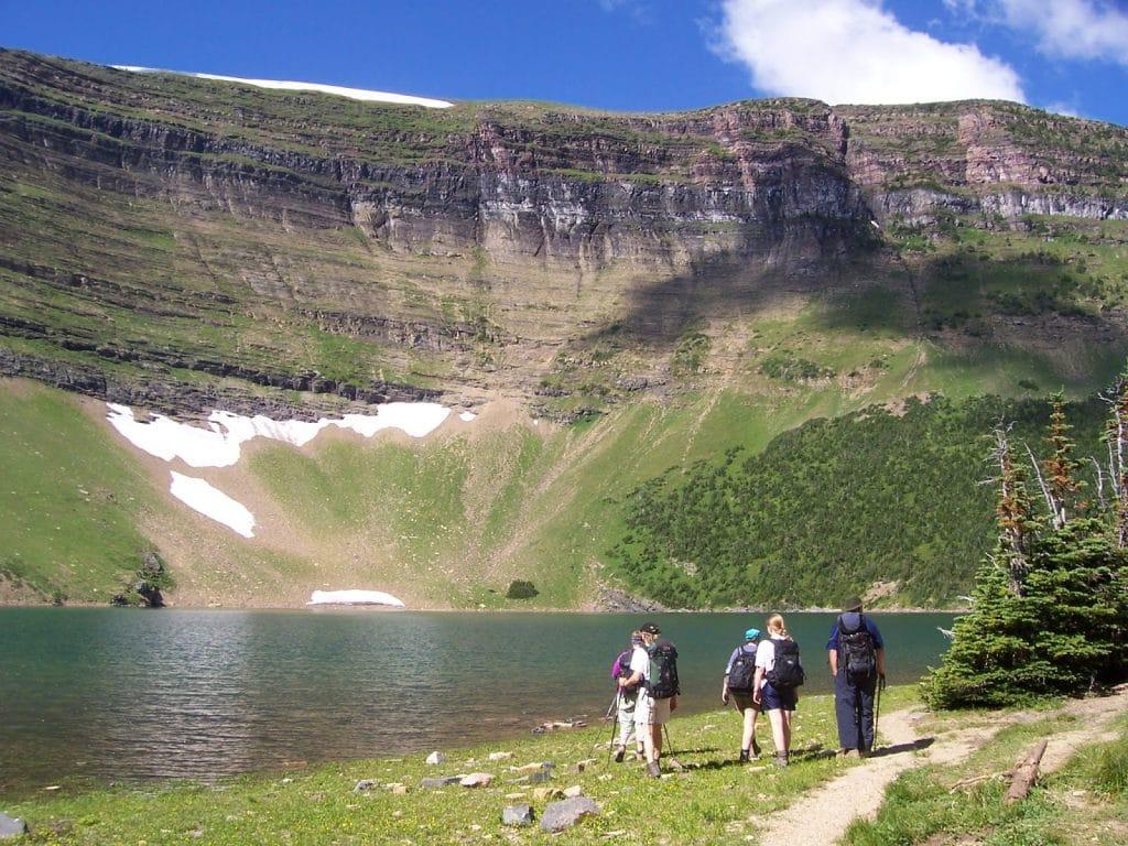 Wall lake and atikama ridge