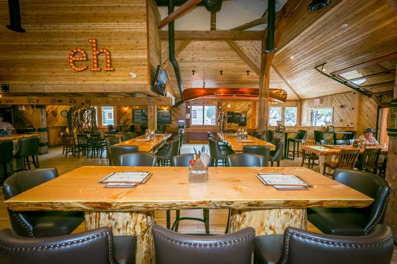 The Thirsty Bear is one of the best Waterton restaurants