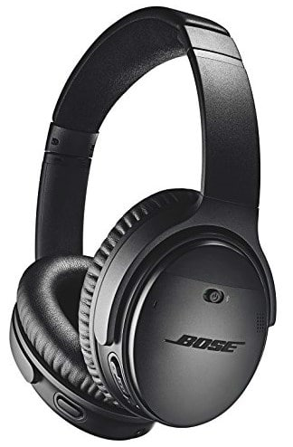 One of the best gifts for travellers is a set of noise cancelling headphones.