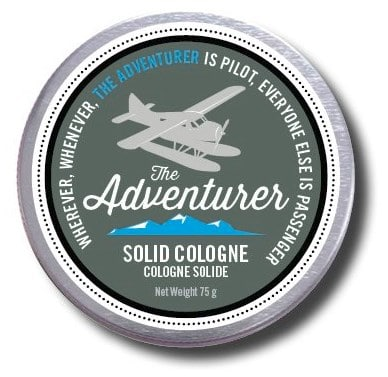 Solid cologne is one of the best gifts for travellers who like to stay fresh