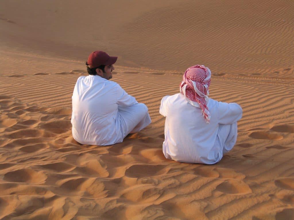exploring sand dunes in dubai
