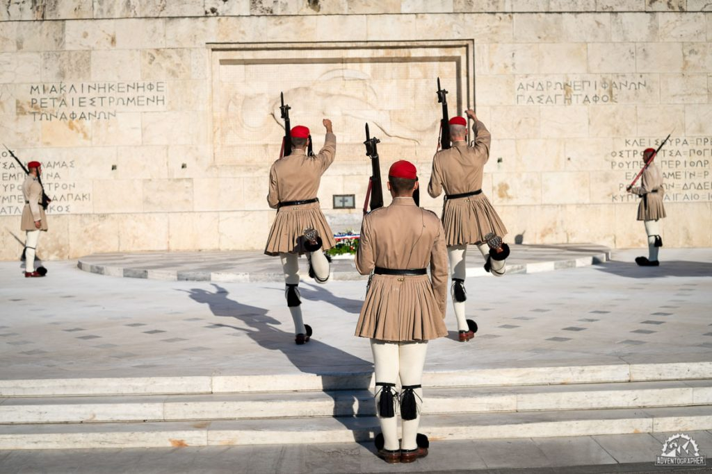 changing of the guard athens