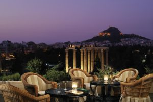 The Royal Olympic Hotel is a great spot to stay in Central Athens!