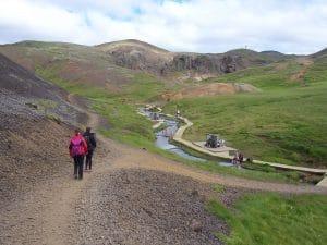 Reykjadalur hot spring river iceland