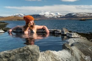 no matter when you visit iceland, the hot springs are the perfect way to relax.