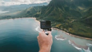 Best budget action camera from helicopter
