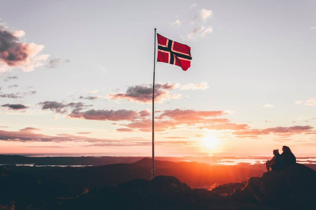 A Norwegian Sunset