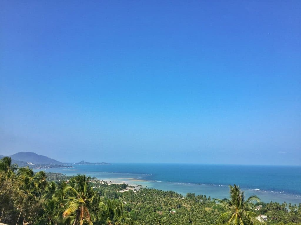 one of the places to visit in koh samui is this amazing viewpoint