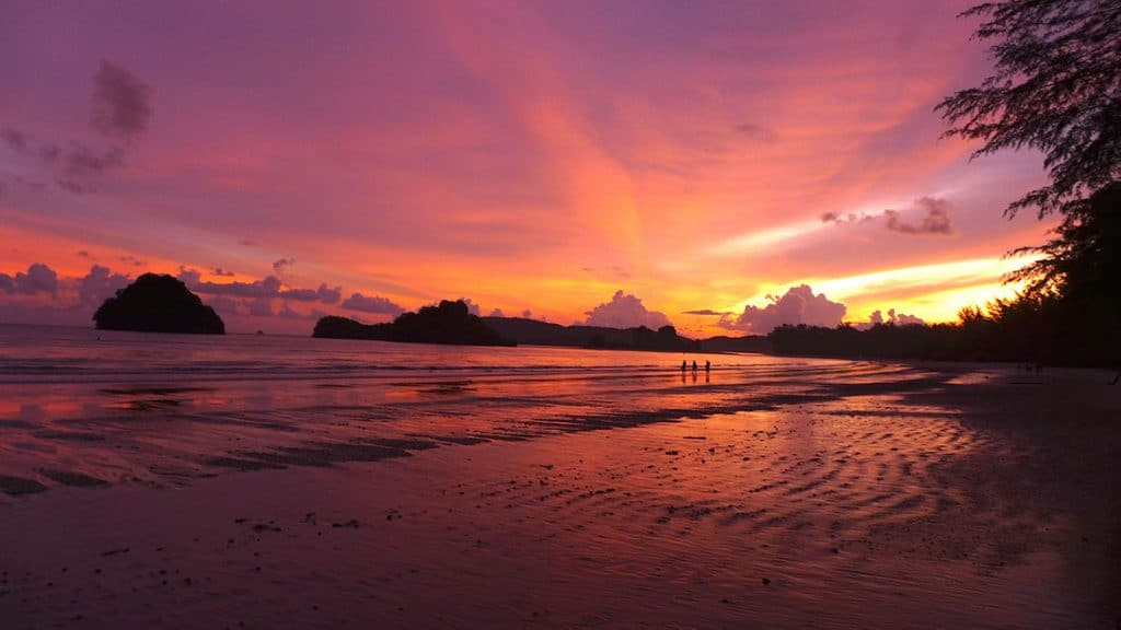 Ao Nang is one of the best Beach Best beach in Krabi