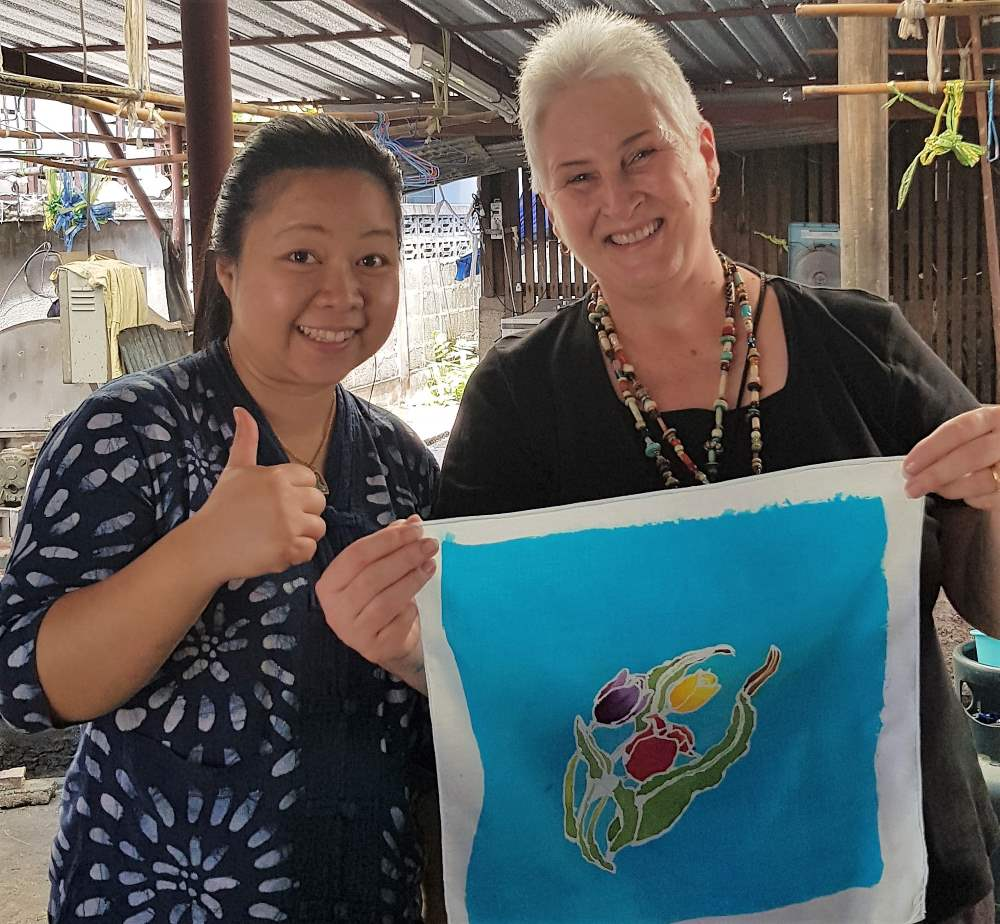 Learning Batik While Living In Thailand