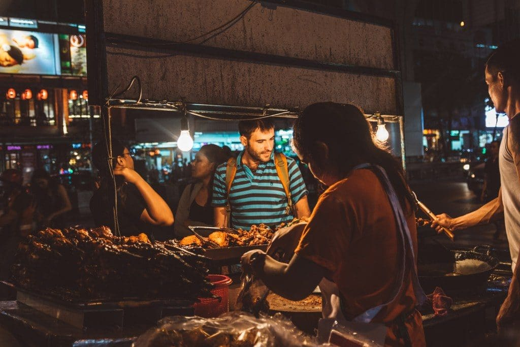 Thailand Nightlife at the Patpong Market