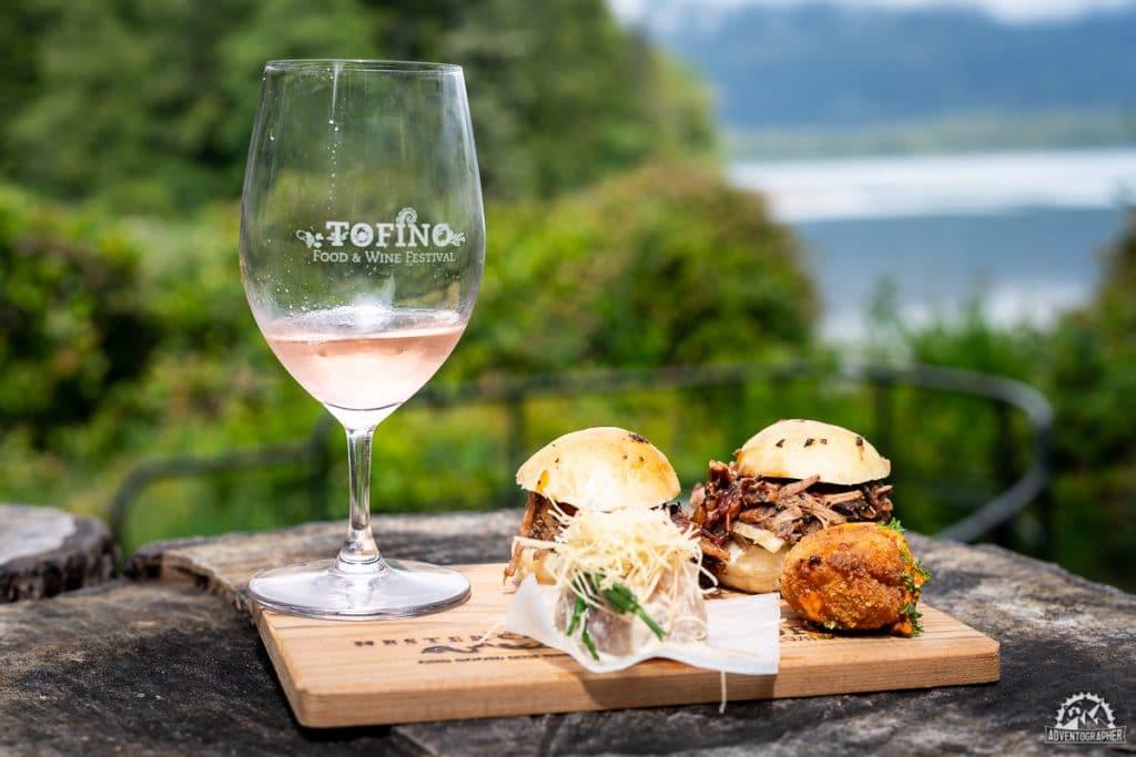 tofino food & wine festival grazing in the gardens