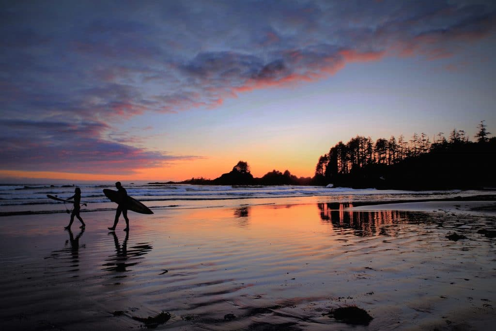 things to do in tofino surfing
