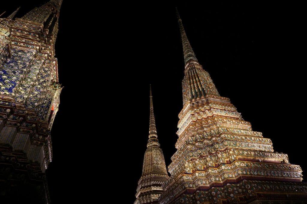 Thailand Nightlife at Wat Pho