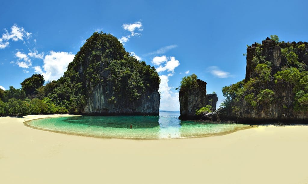 Koh hong beaches in krabi