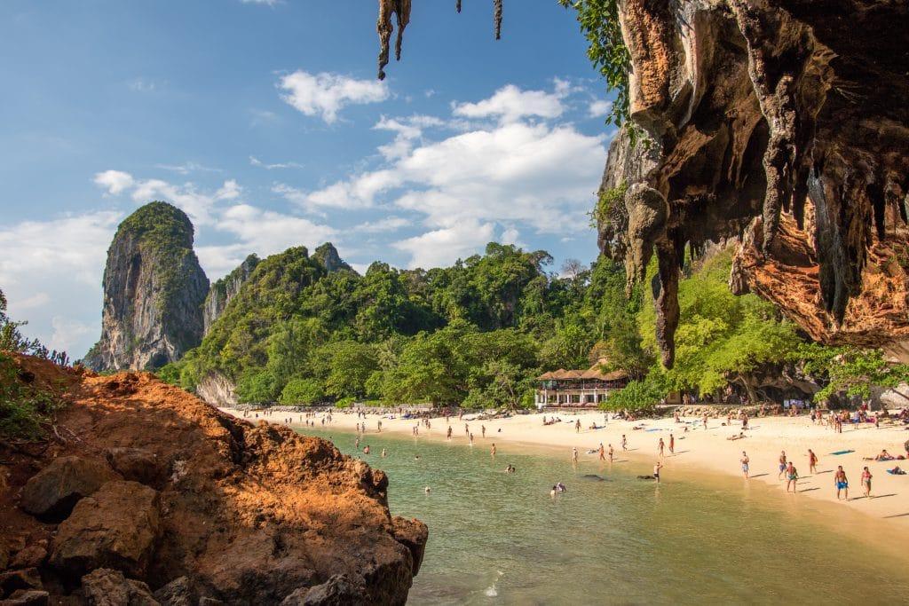 Railay Beach, best beach in krabi thailand