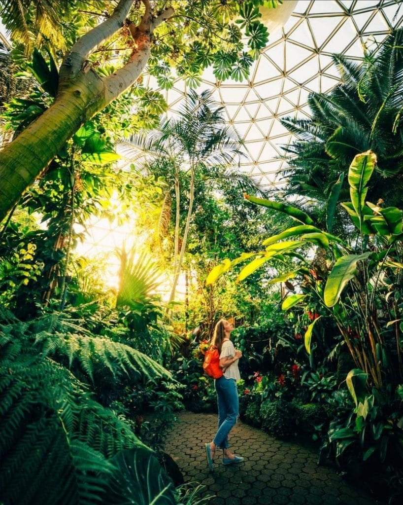 The Bloedel Conservatory is part of a great vancouver weekend getaway