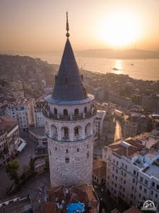 Galata Tower Photography Accessories Drone