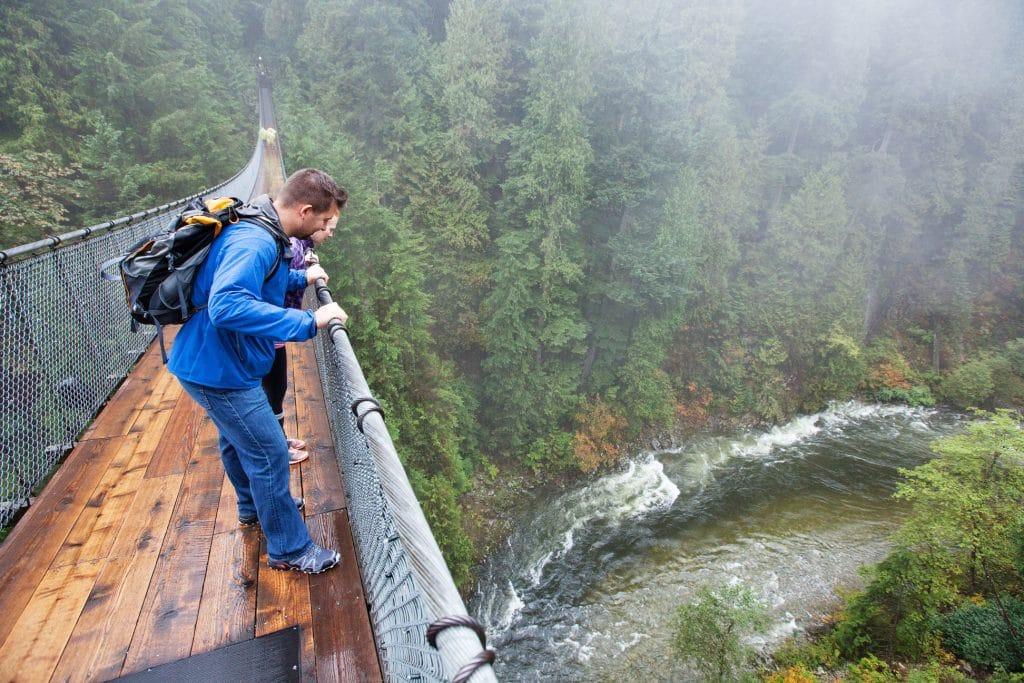Vancouver weekend capilano suspension bridge