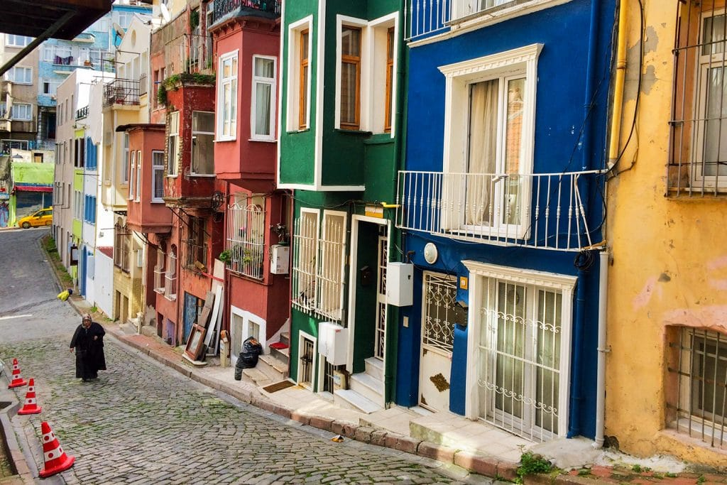 an off the beaten track place to see in istanbul is Balat