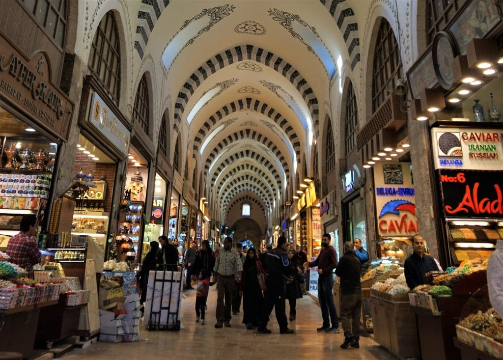 Istanbul's Spice Bazaar plcaes to visit in istanbul
