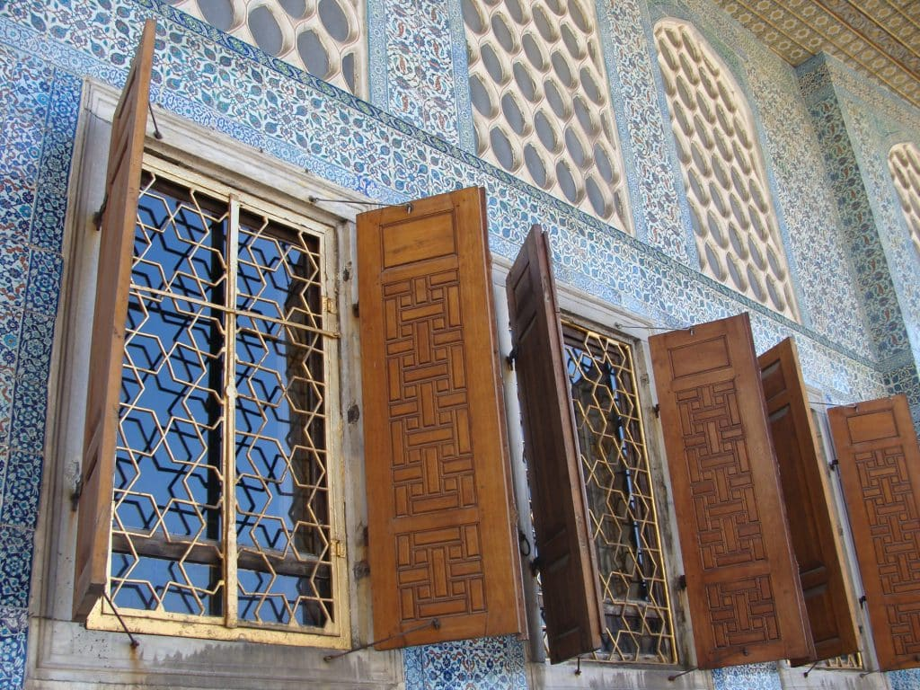 Topkapi Palace places to see in istanbul