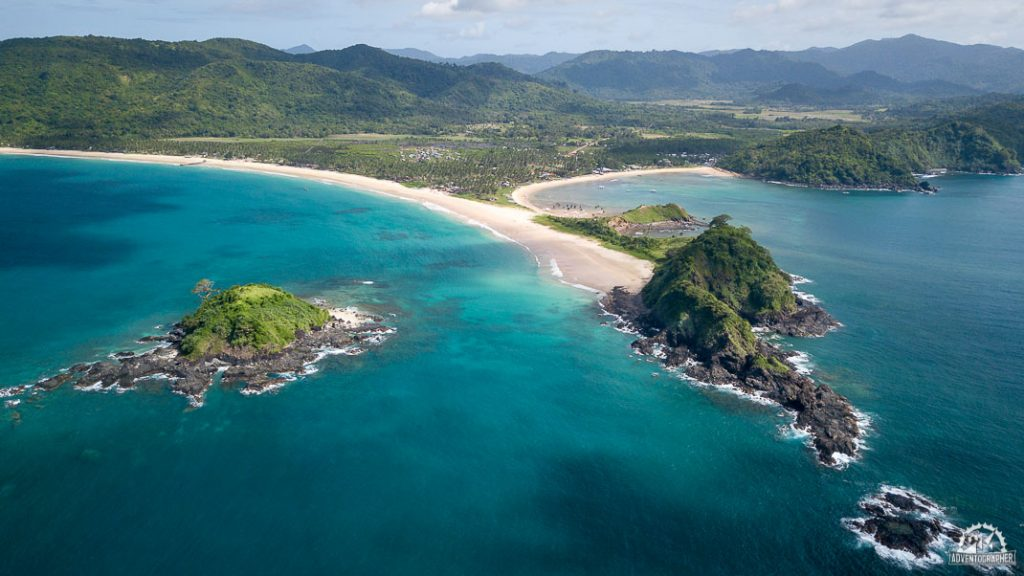 Nacpan Beach & Calitang Beach Via Drone