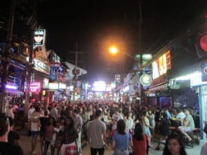 Bangla Road in Phuket is a great addition to your itinerary if you want some nightlife
