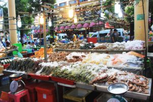 market in phuket thailand