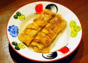 Roti is a must try street food in Thailand!