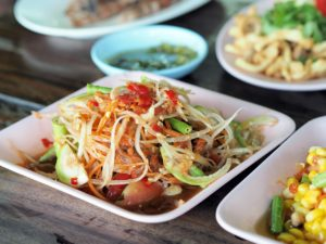 Green Papaya Salad - Som Tam