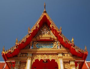Wat Chalong Temple is perfect for a Phuket Itinerary