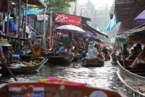 Ban Nam Phueng Floating Market