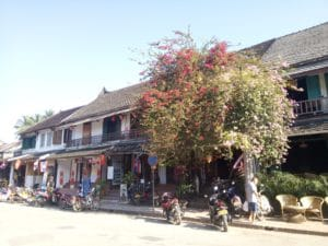 Luang Prabang is home to many Colonial Buildings