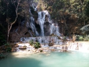 The Luang Pabang Waterfall, Kuang Si