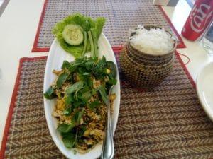 Tofu Larb Lao Cooking Class in Luang Prabang