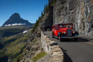 park shuttle glacier national park